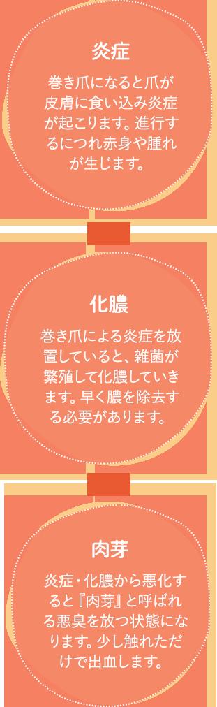 炎症 化膿 肉芽